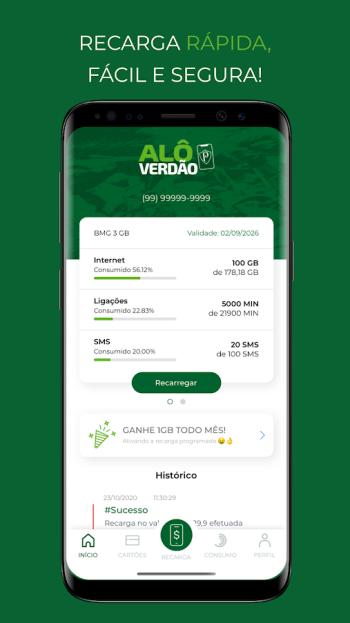 Baixe o aplicativo Alô Verdão no seu celular